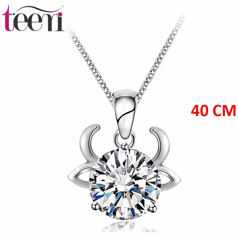 Teemi taurus 925 sterling silver jewelry necklaces 12 constellations teemi taurus 925 sterling silver jewelry necklaces 12 constellations aaa zircon necklace wholesale pendants necklace women buy sterling silver necklace aloadofball Gallery