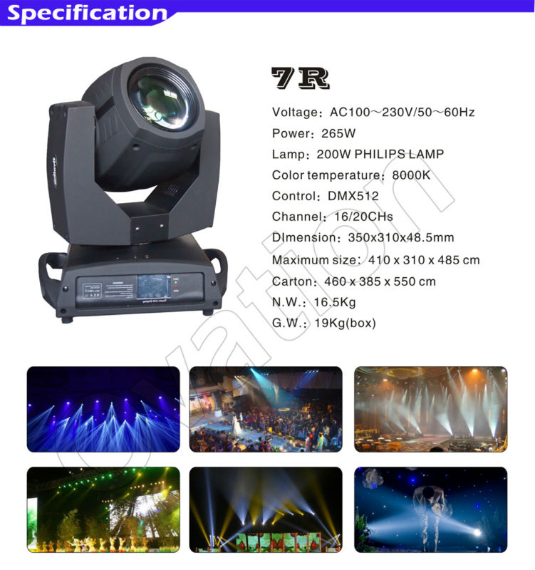 China Full Color Zoom Beam Wash Led Zoom Moving Head Light Price ...
