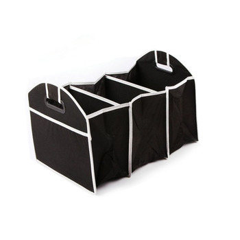 Oempromo Non-woven foldable car storage bag organizer
