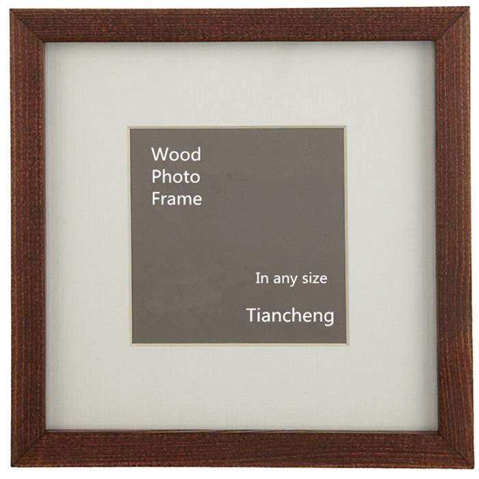 Hot Sale Handmade Bulk Square Wood Collage Photo Frame /exhibition ...