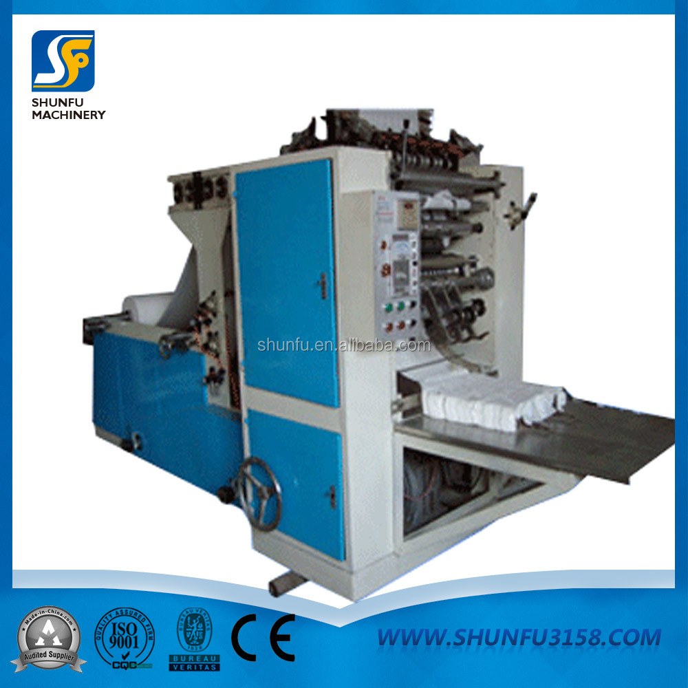 Automtic Counting Embossed Soft Facial Tissue Box Paper Machine