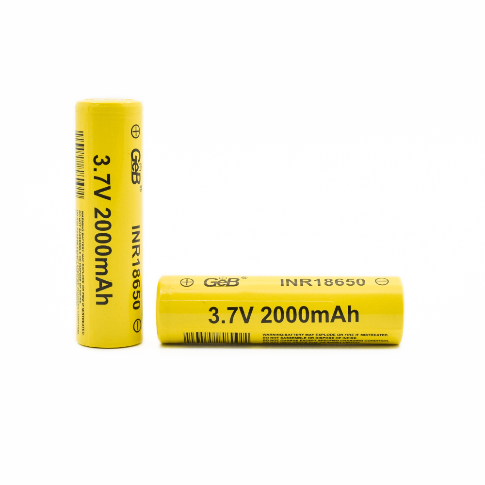 GEB lithium battery 18650 3.7V 2000mAh for e bike.