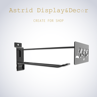 Hot Metal Clothes Display Hook with Brand Exposure