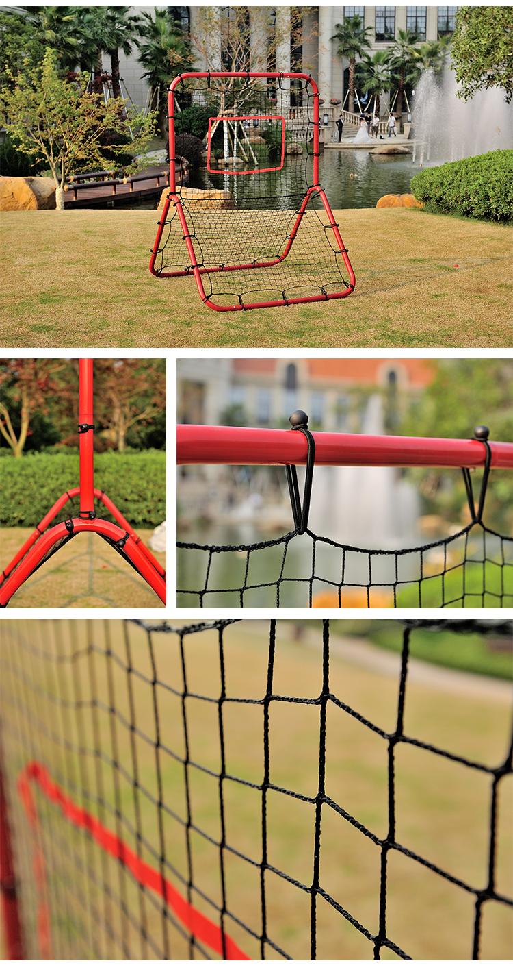 2 x Easy Assembly Kids Metal Football Training Goals Nets Outdoor Garden Sports