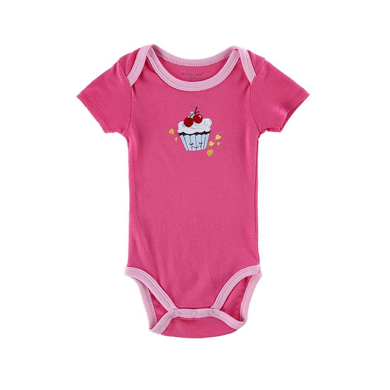 mamelucos del beb encantador estilo impreso de moda de verano ropa de beb recin nacido de