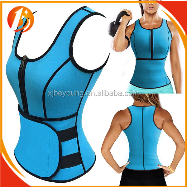2017 New Design Neoprene Material with Color Customized Body Shaper Corset, Adjustable Fajas Colobianas Corset
