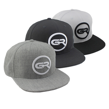 Design Your Own Embroidery Gorras Snapback , Snapback Custom ,Wholesale Flat Bill Custom Snapback Hat
