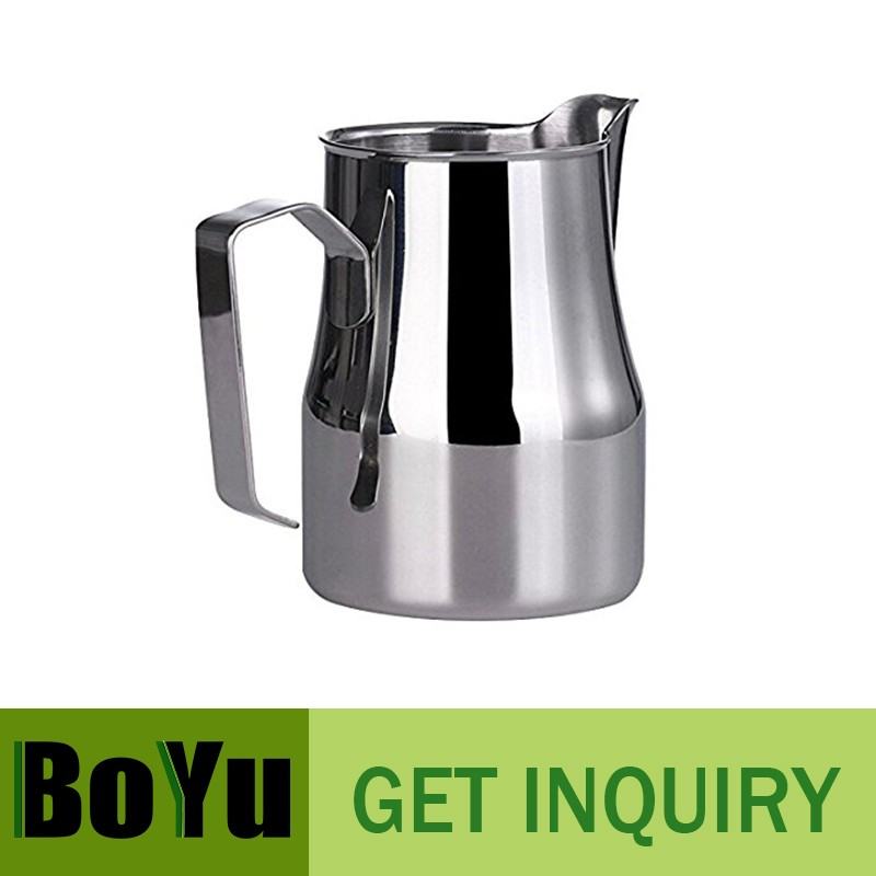 350ML/500ML/750ML Latte's Art Stainless Steel Frothing Pitcher! Couple with Your Espresso Machine or Frother