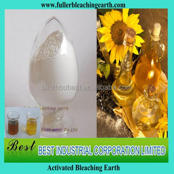 Activated Fuller Earth Filter For Refining Sunflower Oil