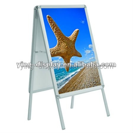 2017 New style Outdoor Poster Stand A Board/Double Side Banner Stand on sale