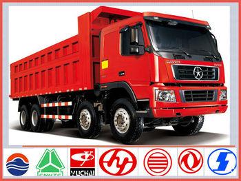 China Brand New Dayun 50ton 12-wheel Sand Tipper Trucks For Sale ...