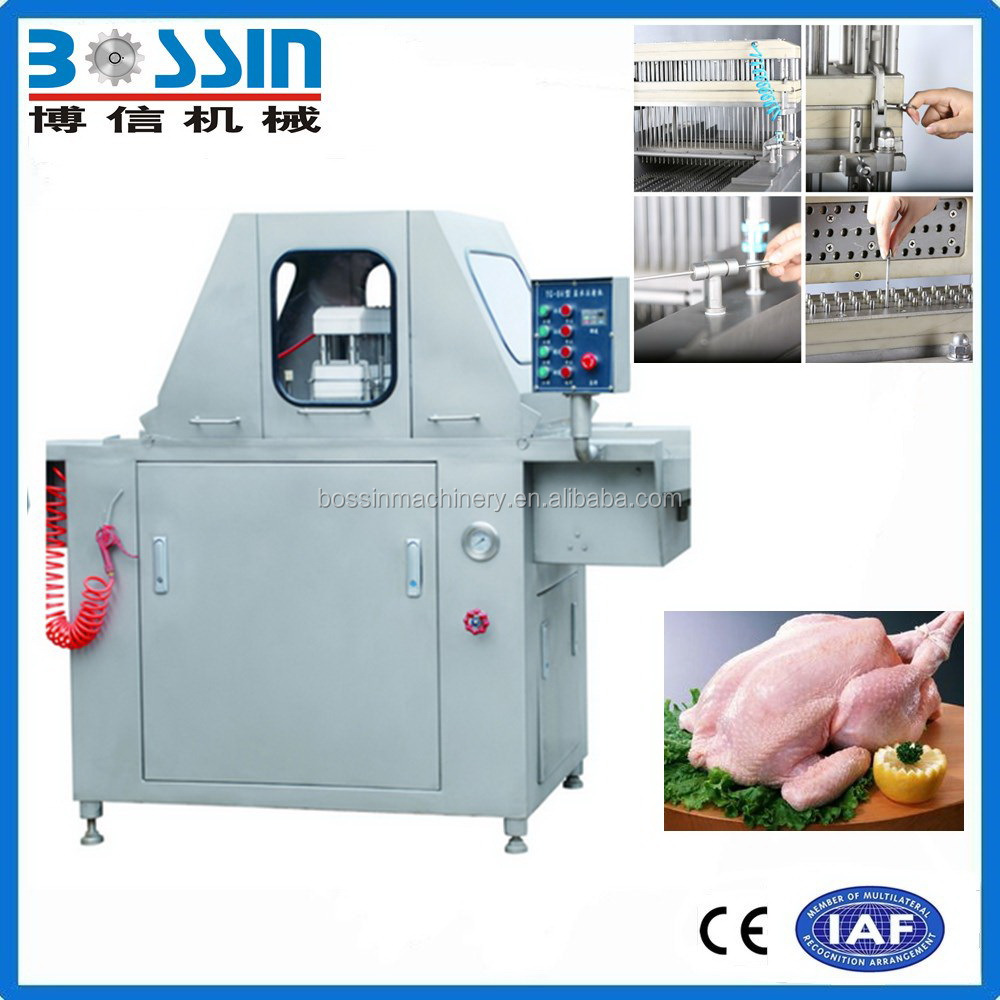China top brand wholesale fish meat brine injector machine