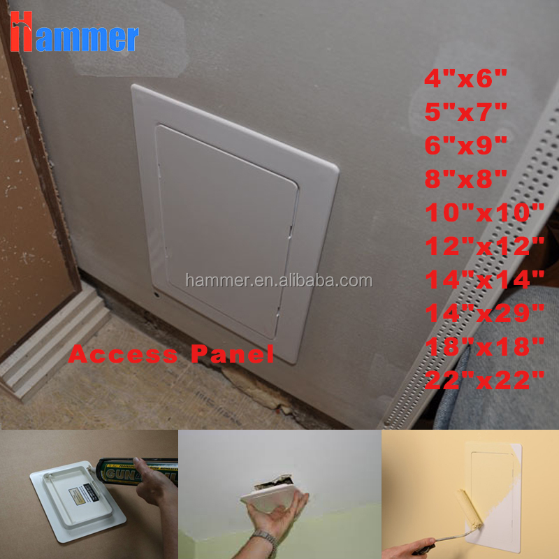 Plastic Access Panel Plastic Access Door for wall or ceiling decorative panel