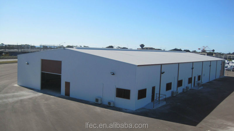 Prefabricated galvanized steel factory buildings