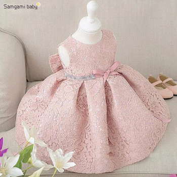 001192849 Toddler Girl Baptism Dress Christmas Costumes Baby Girls Princess Dresses  Birthday Gift Kids Party Wear Dresses
