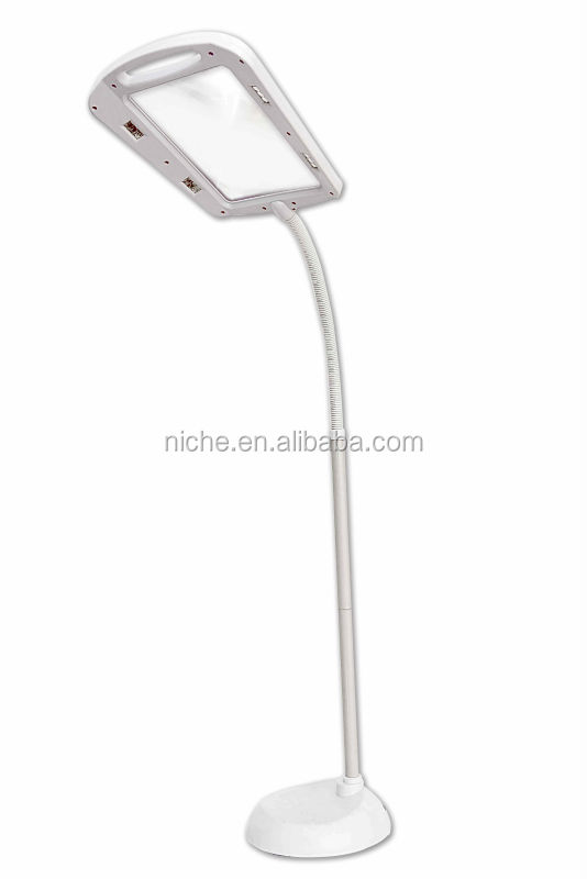 Full Page Electric Adjustable 5x Magnifying Floor Lamp