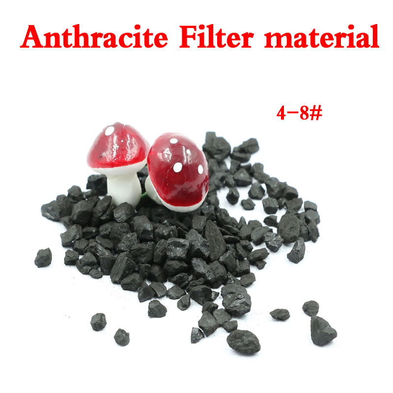 High quality and Low price 0.8-1.6mm Anthracite Filter Media for Water Treatment
