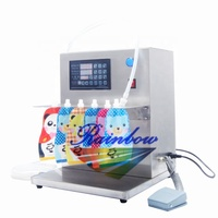 High accuracy digital control milk pouch filling machine