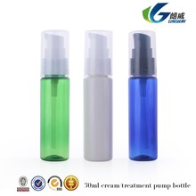 30ml 1oz wholeasle Clear Plastic bottles PET Empty cream pump bottle Travel Size used for cosmetic oil factory outlets