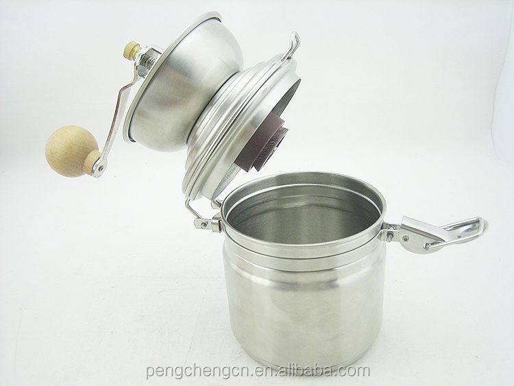 kitchen appliance stainless steel coffee milling manual coffee grinder