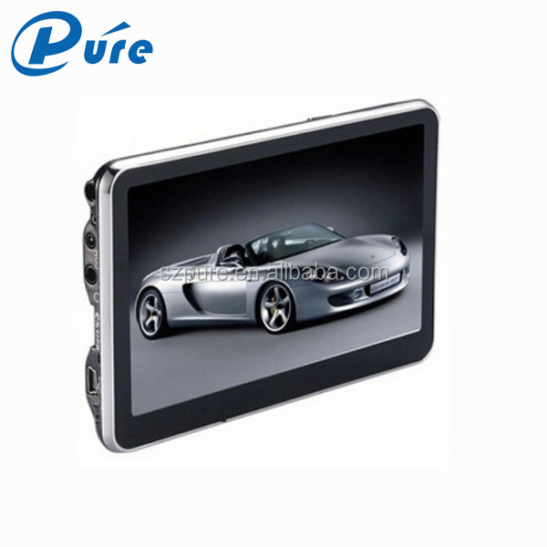 navigation gps 5 inch windows ce 6.0  with dvr, bluetooth, FM for different brand car