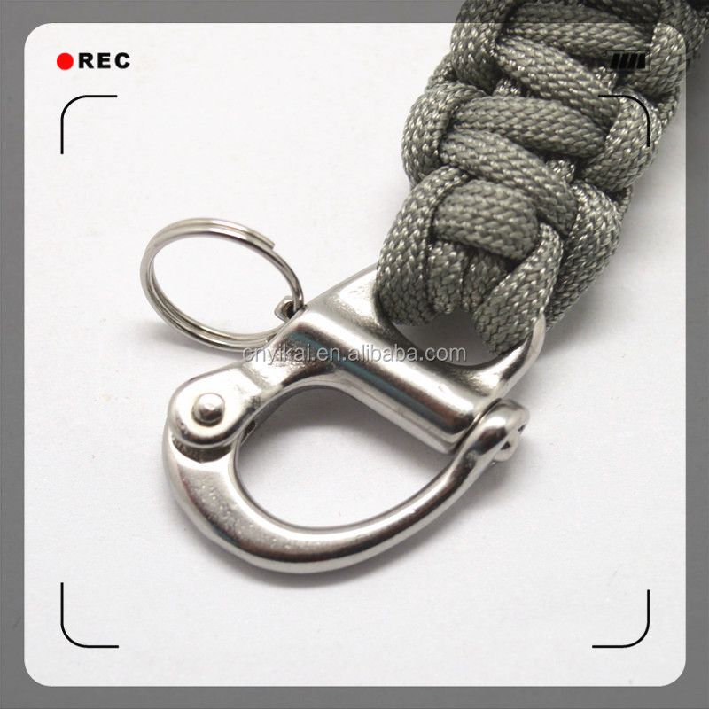 Stainless Hook Clips Metal Rotating Hooks Spring Hook With