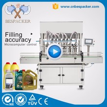 High capacity automatic essential oil olive oil filling machine