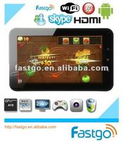 7inch tablet umpc A10,android 2.3,capacitive 5 points touch,1.5GHz,camera,wifi,3G