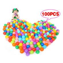 100Pcs Colorful Ball Ocean Balls Soft Plastic Ocean Ball Baby font b Kid b font Swim