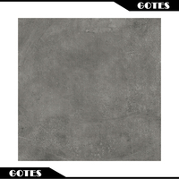 Wholesale price Non slip outdoor dark grey cement matte finished rustic porcelain floor tiles 600x600mm HD6842