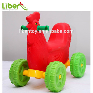 Saddle for Animal Design Plastic Rocking Horse,Outdoor Children Spring Rocking Horse LE.YM.049