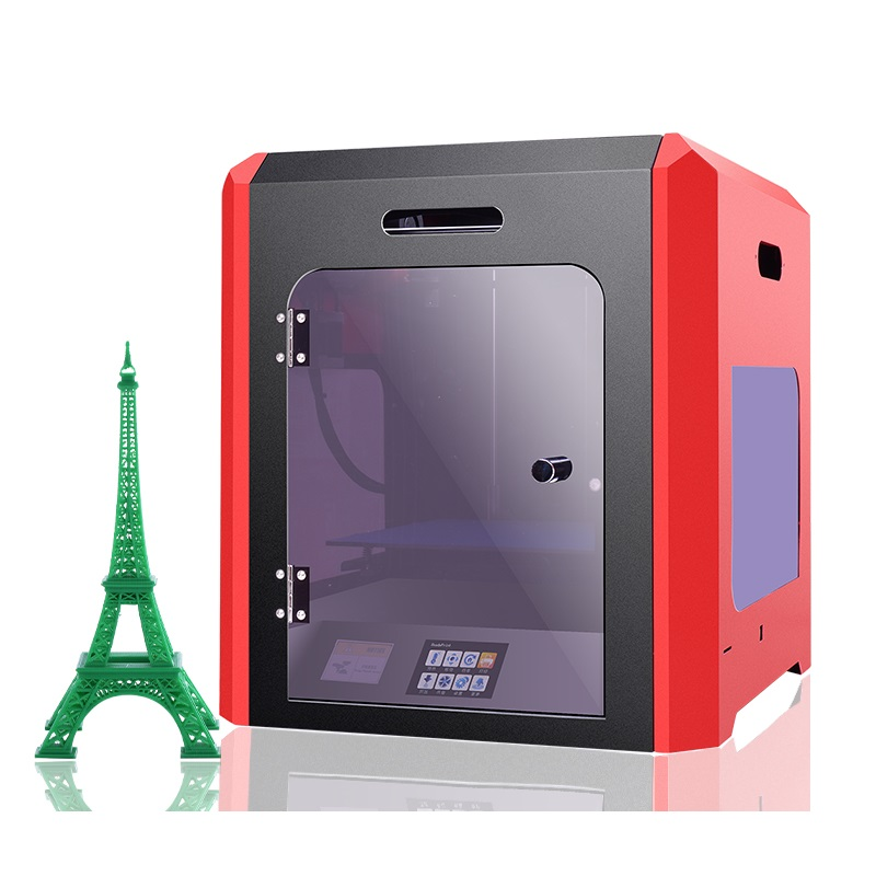 Newest Yite ET 3D Printer ET-K1 with Touch Screen Assembled 3D Printer Machine for ABS PLA Printing 1.75mm 3mm