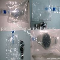 recyclble void fill bag/air bladder packaging for watches