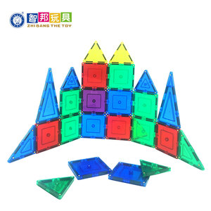 Fine Quality Kids Set Building Construction Learning Toys Plastic Magnetic Building Blocks