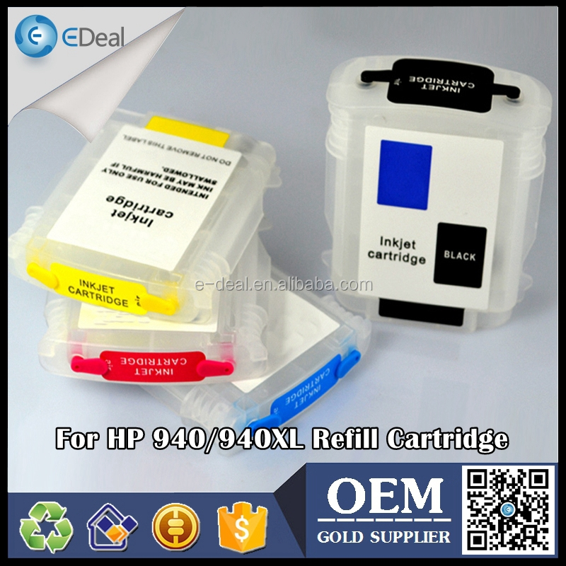 voor hp 940 940xl lege refill inkt cartridge voor hp officejet 8500 8000 printer inkt cartridge met chip