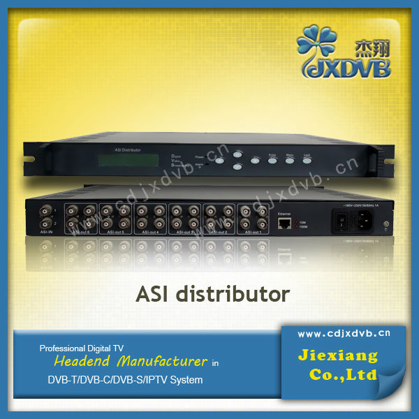 Digital TV DVB ASI Distributor