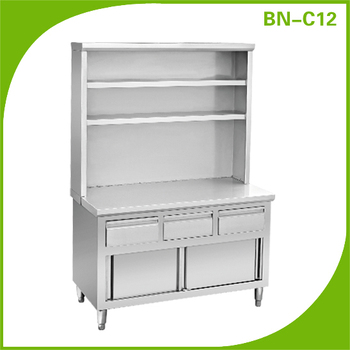 bn c12 cosbao stainless steel kitchen cabinet pantry unit