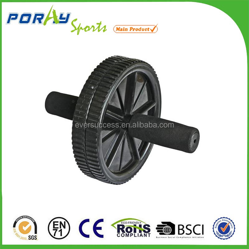 SMALL FITNESS EQUIPMENT/AB EXCRCISE WHEEL