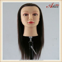 Wholesale human hair manikin head for hairdresser