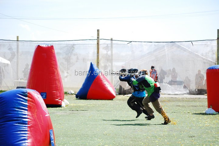 Factory supply high quality cheap inflatable paintball pakistan for archery game