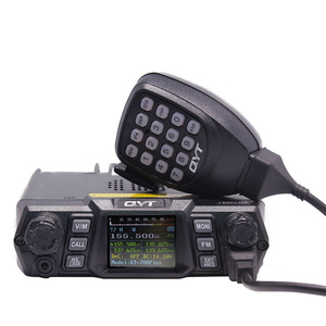 100 Watts Higher Power Car Radio/Mobile Transceiver VHF 136-174mhz KT780plus Long Range Mobile Ham Radio QYT KT-780 Plus