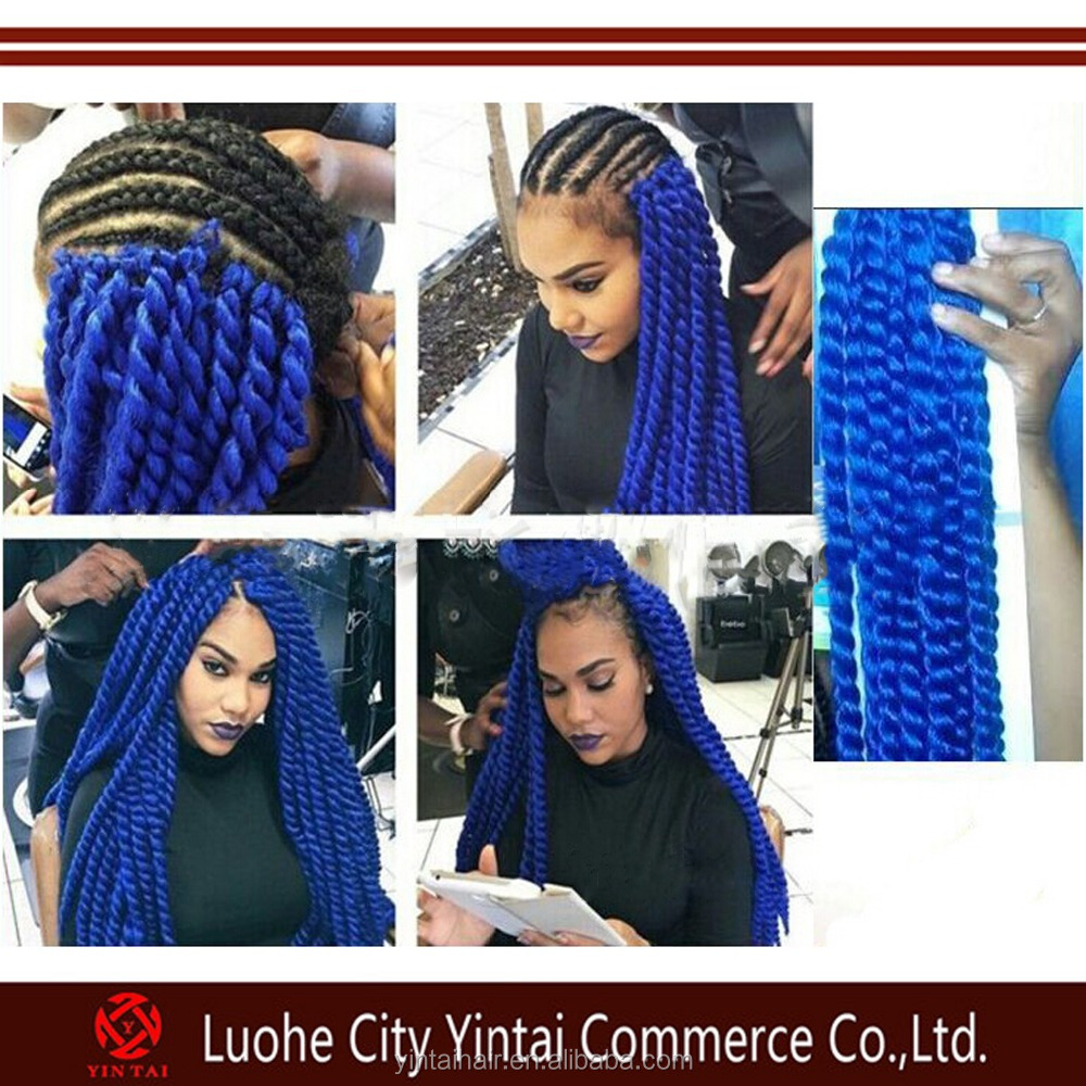 Model Model 2x Jumbo Twist Braid Crochet Latch Hook Havana Mambo ...