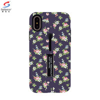 Saiboro tpu pc customizable fancy girl printed flower sublimation case for iphone x case cute