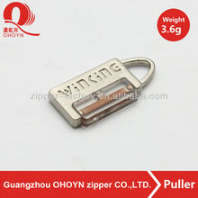 alibaba wholesale bag zipper puller with string