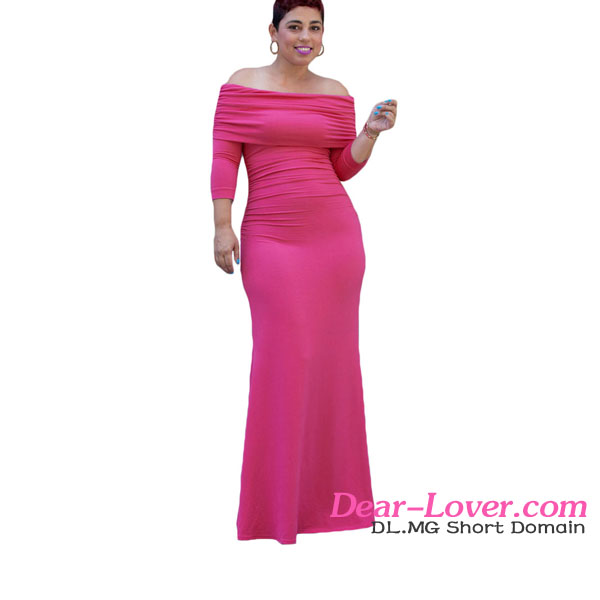 High Quality Wholesale Rosy Off-shoulder Cape Evening Dresses Made In China