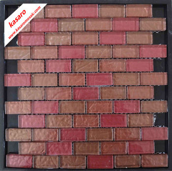 Red brick wall tilered brick mosaic wall tilesbrick look wall tile