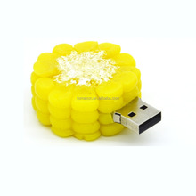 New USB drive Yellow Corn shape USB stick Bulk cheap 2G 4G 8G 16G 32G 64G pen drive