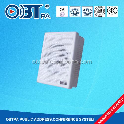 Obt-421 Small 5w Wall Mount Speaker For Corridor,Classroom,Shop ...