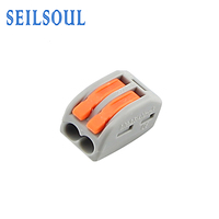 Factory Price Electrical Equipment Wire Accessories Terminal Block Compact Splicing Connector