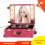 New makeup product Professional Elegant & Quality PVC makeup station with lights and mirror, Speedy delivery